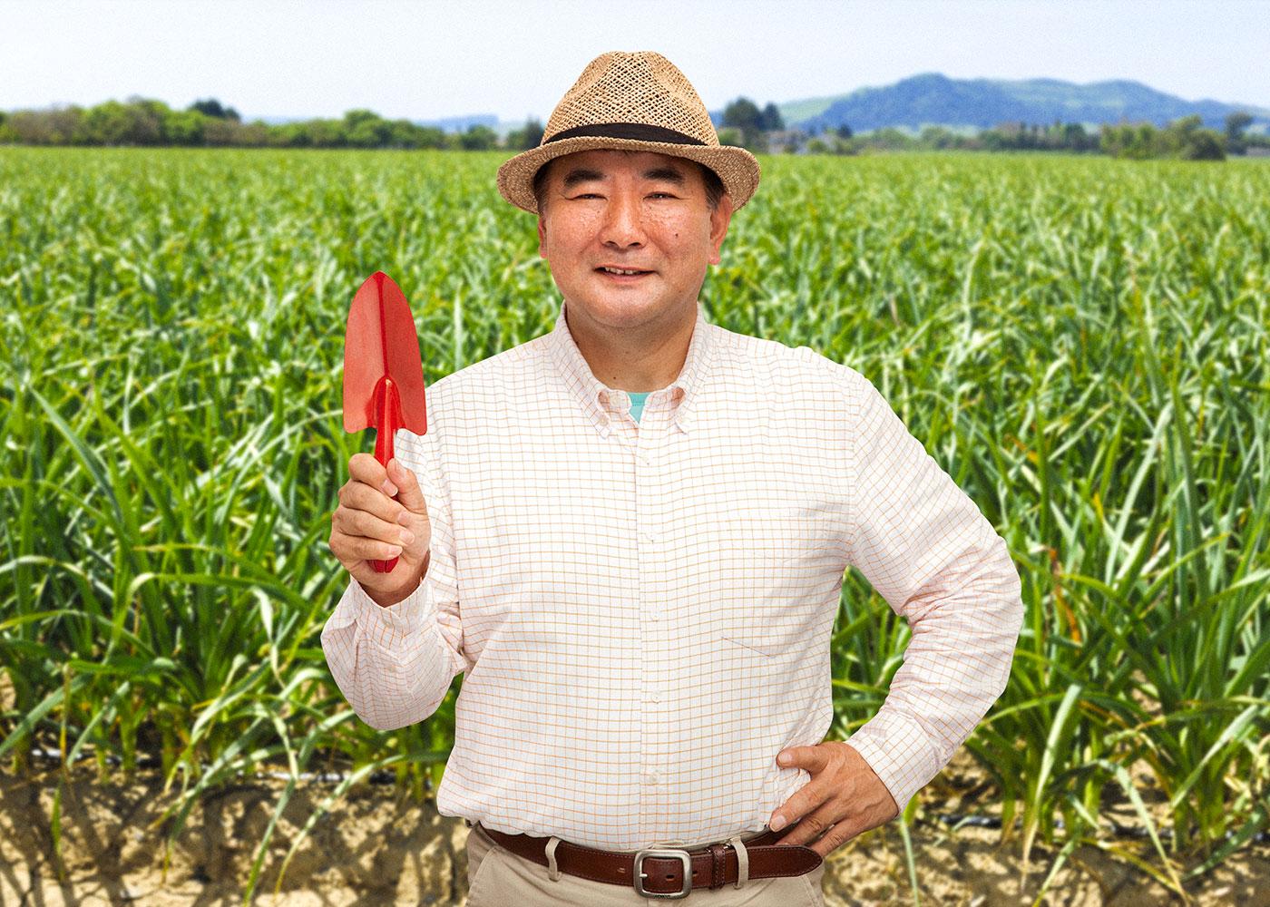 にんにく栽培講座藤田智先生
