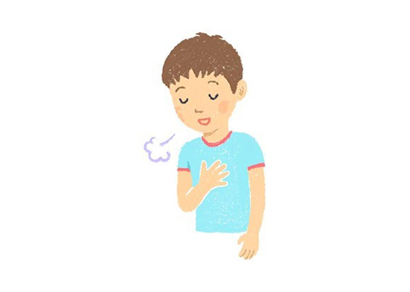 喘息症状を緩和するにんにくの作用