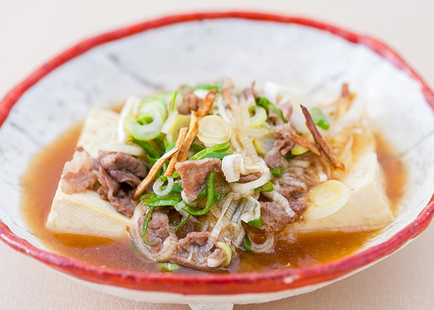 にんにく肉豆腐