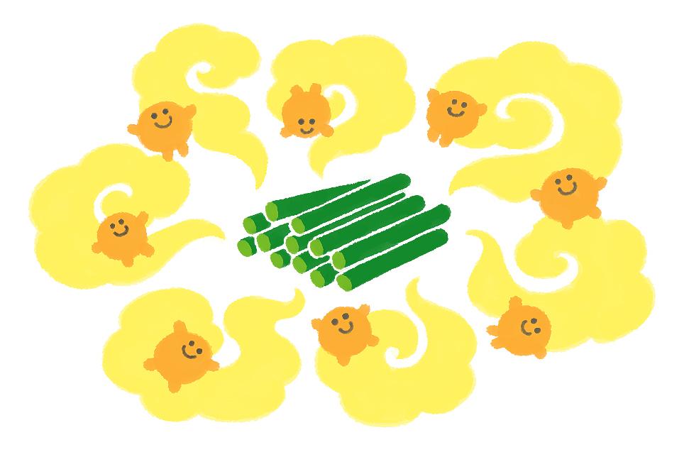 にんにくの芽のにおいの成分はアリシン!強くにおうほど健康作用をもたらします